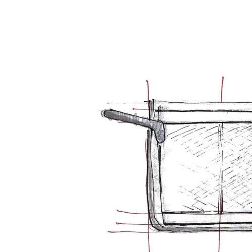 Glasspot sketch