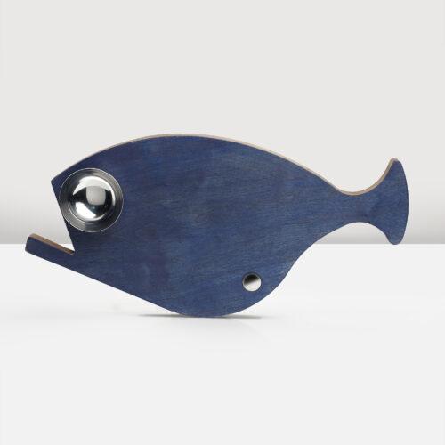 Blue fish cutting board