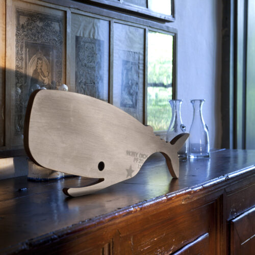 Moby Dick cutting board